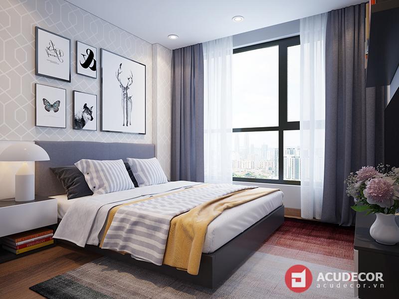 Nội thất phòng ngủ chung cư Five Star