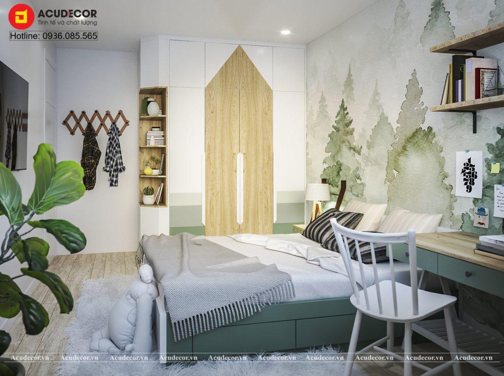 phòng ngủ cho bé phong cách Scandinavia (3)