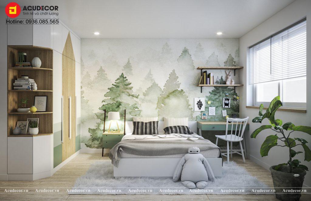phòng ngủ cho bé phong cách Scandinavia (2)
