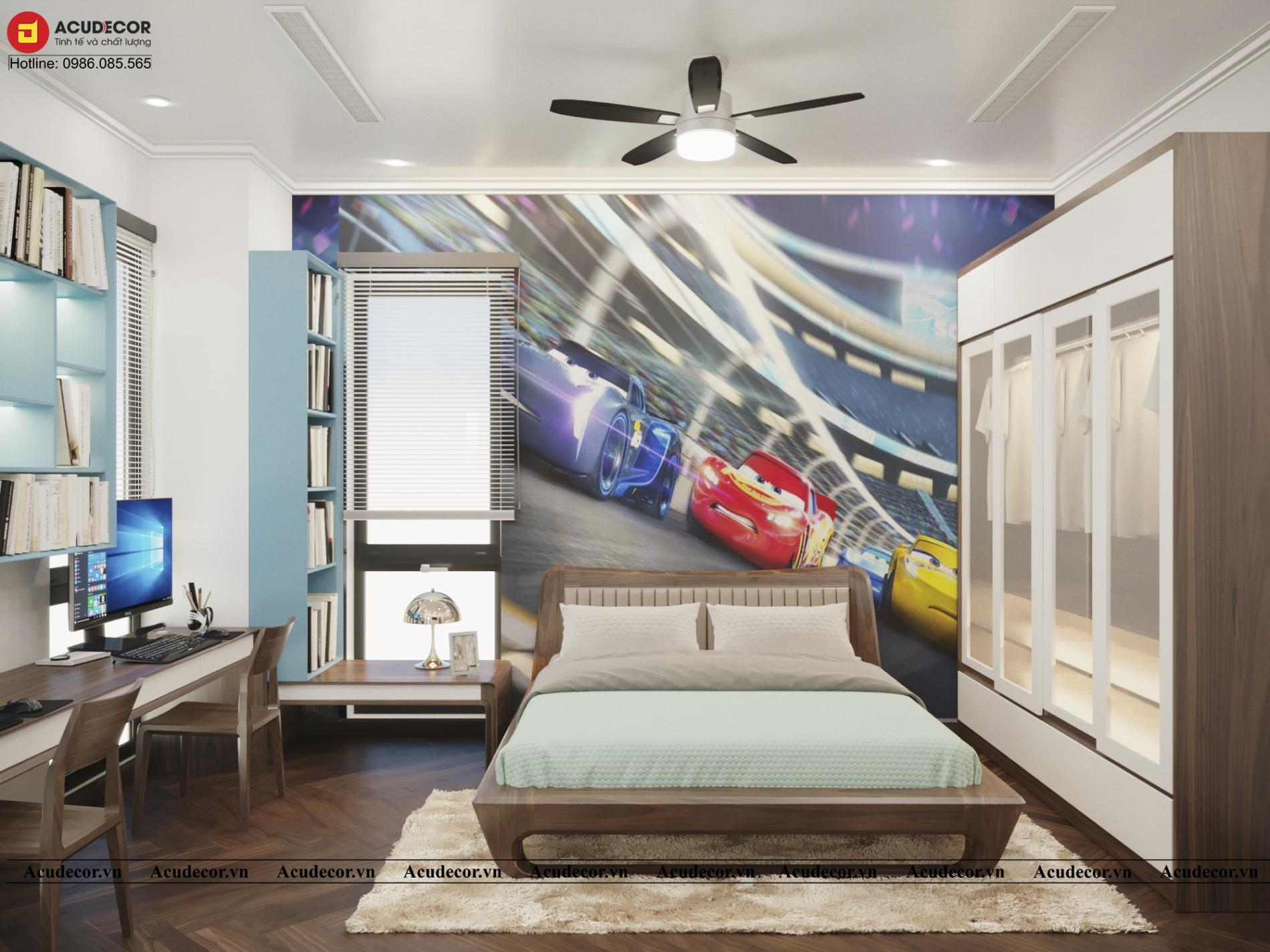 Phòng ngủ á đông