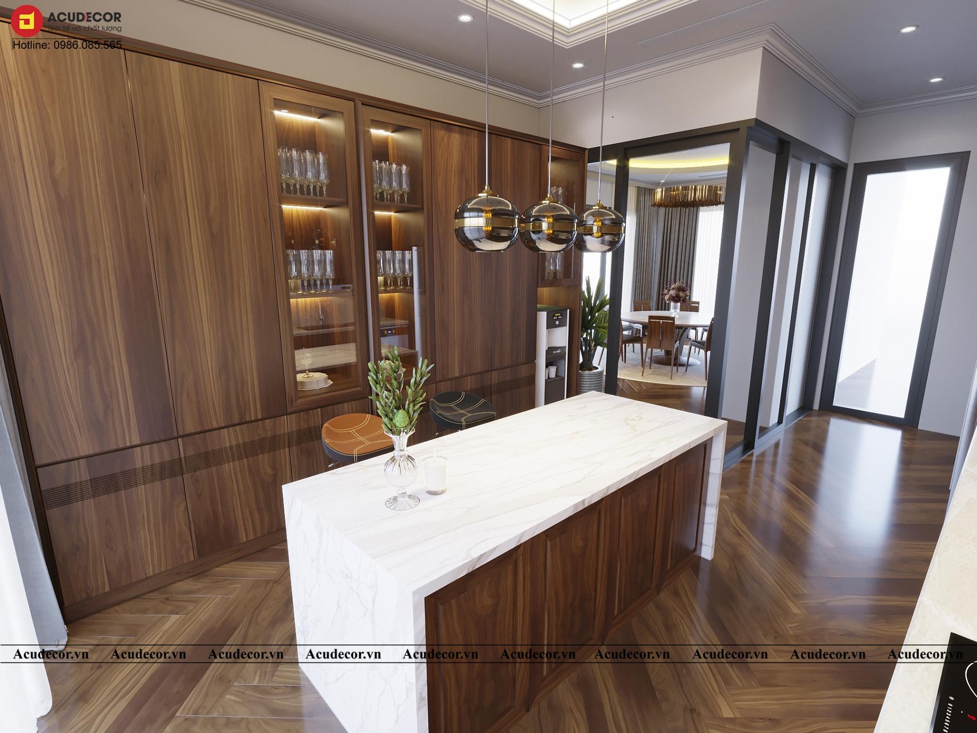 Phòng bếp theo phong cách á đông